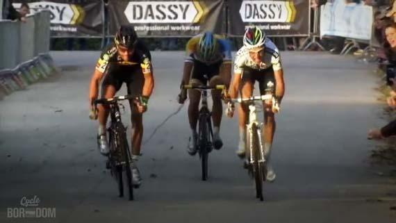 Cycleboredom   Screencap Recap: 2012 Cyclocross Bosduin Kalmthout - Nys Has It