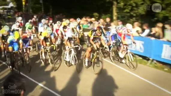 Cycleboredom   Screencap Recap: 2012 Cyclocross Bosduin Kalmthout - Start