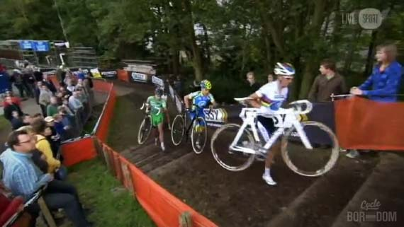Cycleboredom | Screencap Recap: 2012 Cyclocross Bosduin Kalmthout - World Champ Form