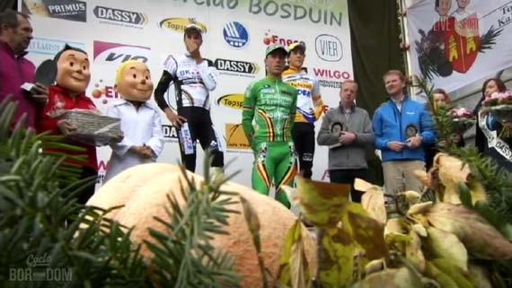Cycleboredom | Screencap Recap: 2012 Cyclocross Bosduin Kalmthout - WTF Podium