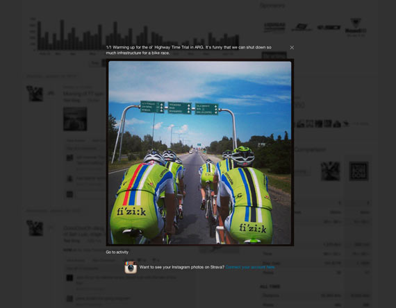 Strava + Instagram = Almost Awesome | Cycleboredom - Ted King