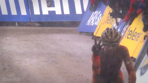 Screencap Recap: 2013 UCI Cyclocross World Championships - Van der Drie