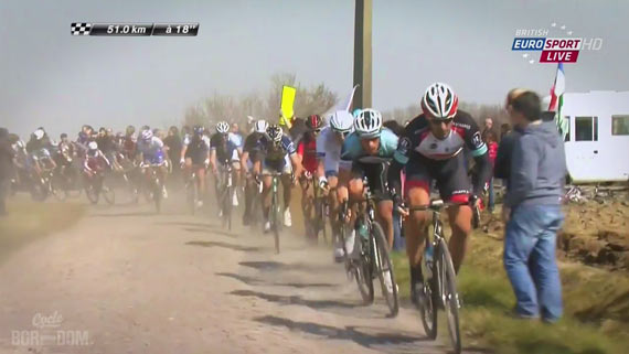 Screencap Recap: Paris-Roubaix 2013 - Begin #Fabsclinic