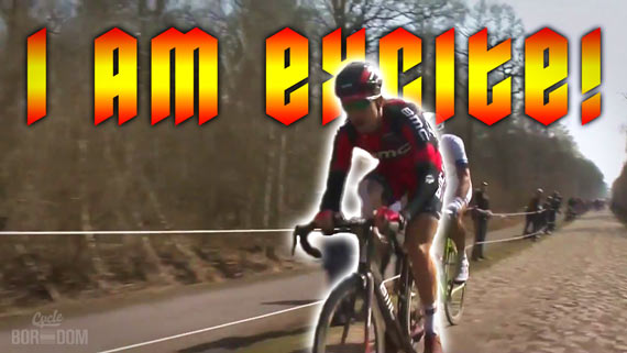 Screencap Recap: Paris-Roubaix 2013 - TAYLOR EXCITE