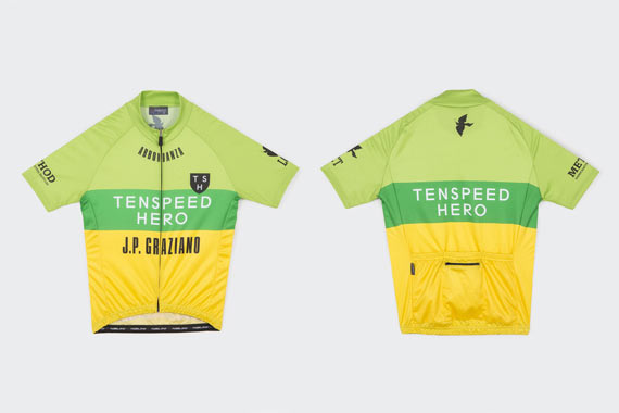 Released: Tenspeed Hero TSH Racing Team Jersey