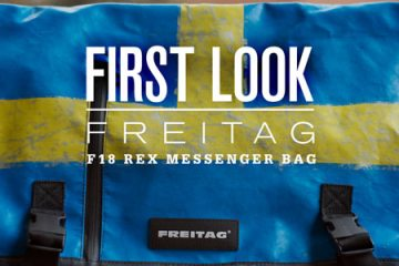 First Look: Freitag F18 Rex Messenger Bag