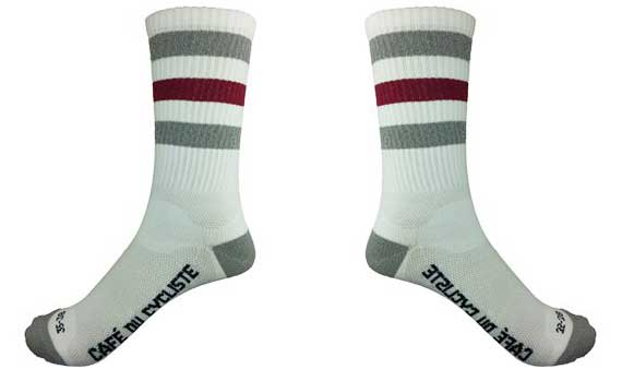 Released: Café du Cycliste Striped (Tube) Socks