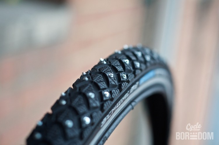 What I'm Riding: Schwalbe Marathon Winter HS 396 Studded Tires