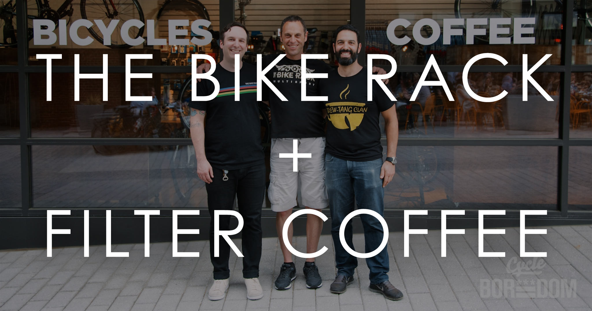 #BikeDC: The Bike Rack + Filter Coffeehouse Grand Opening