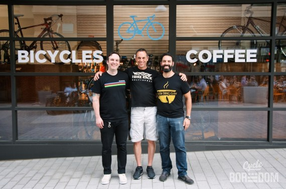 #BikeDC: Bike Rack + Filter Coffee Grand Opening