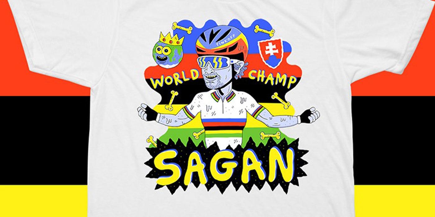 Shirt of the Week: Manual For Speed Sagan World Champ T-Shirt
