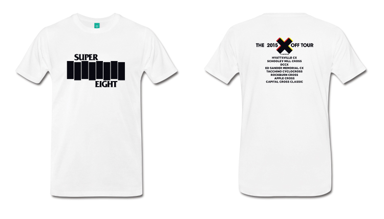 SOB: The Official Super 8 2015 CXOff Tour Shirt
