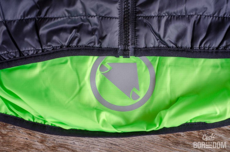 First Look: Endura Urban Flipjak Reversible Jacket - Interior Hi-Viz and Reflective Logo