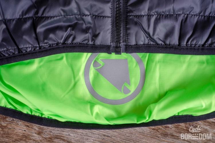 First Look: Endura Urban Flipjak Reversible Jacket - Interior Hi-Viz and Reflective Logo
