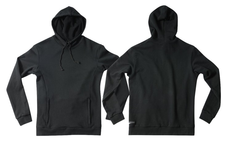 Released: Search And State Hooded Riding Sweatshirt