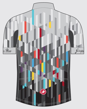 Kit of the Week: Grimpeur Bros x Castelli Cycling Summer Team Jersey - Back