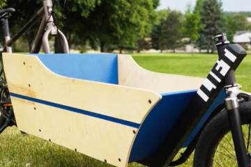 Convert Your Bike Into a Bakfiets With the Lift Cargo Bike