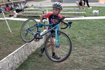 2016 BikeReg Super 8 Series: #2 - Schooley Mill Cross - Men's B 3/4 & U19 (And That Little Dude, Too)