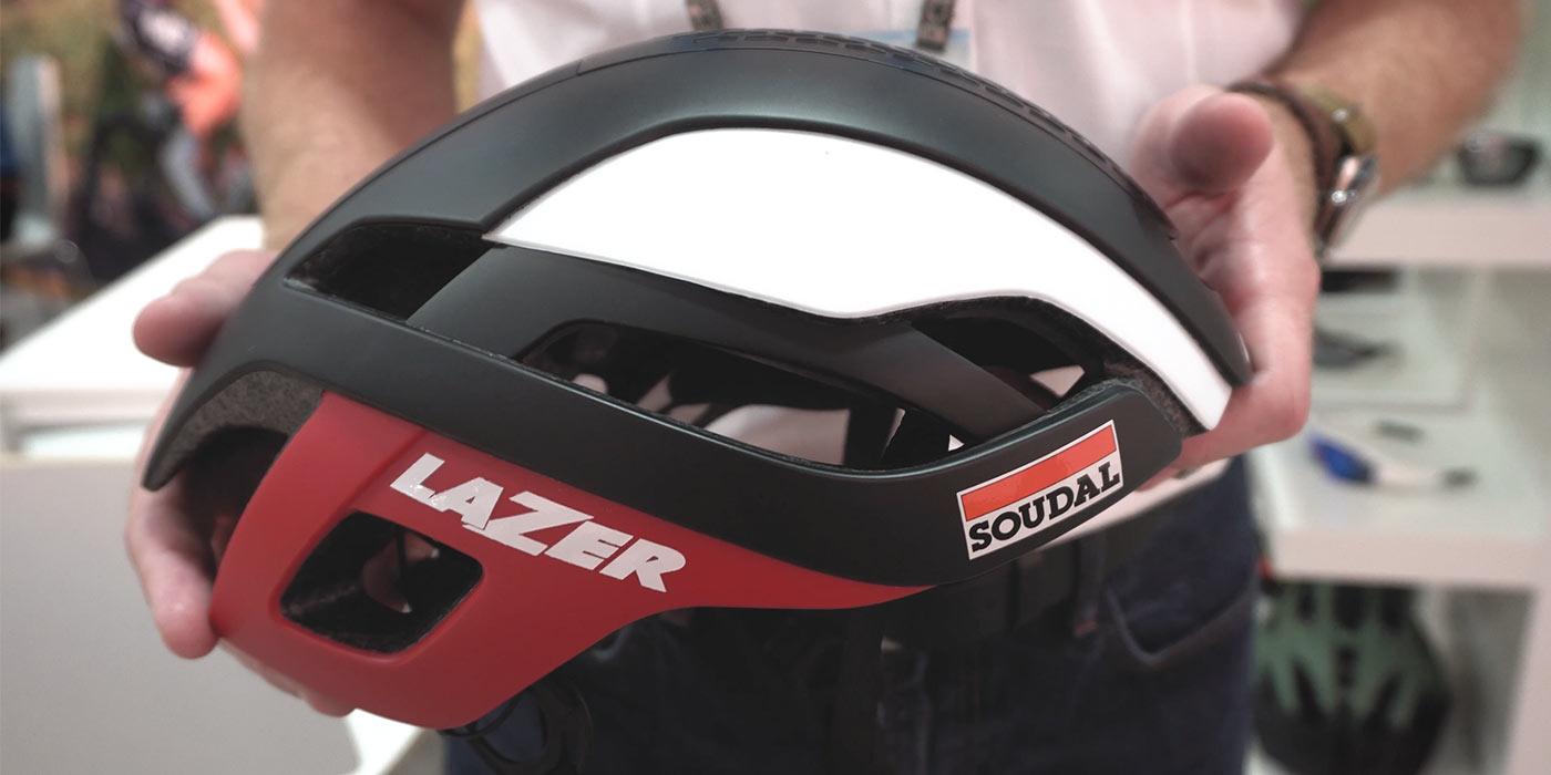 Interbike Microdose: Lazer Bullet Aero Helmet