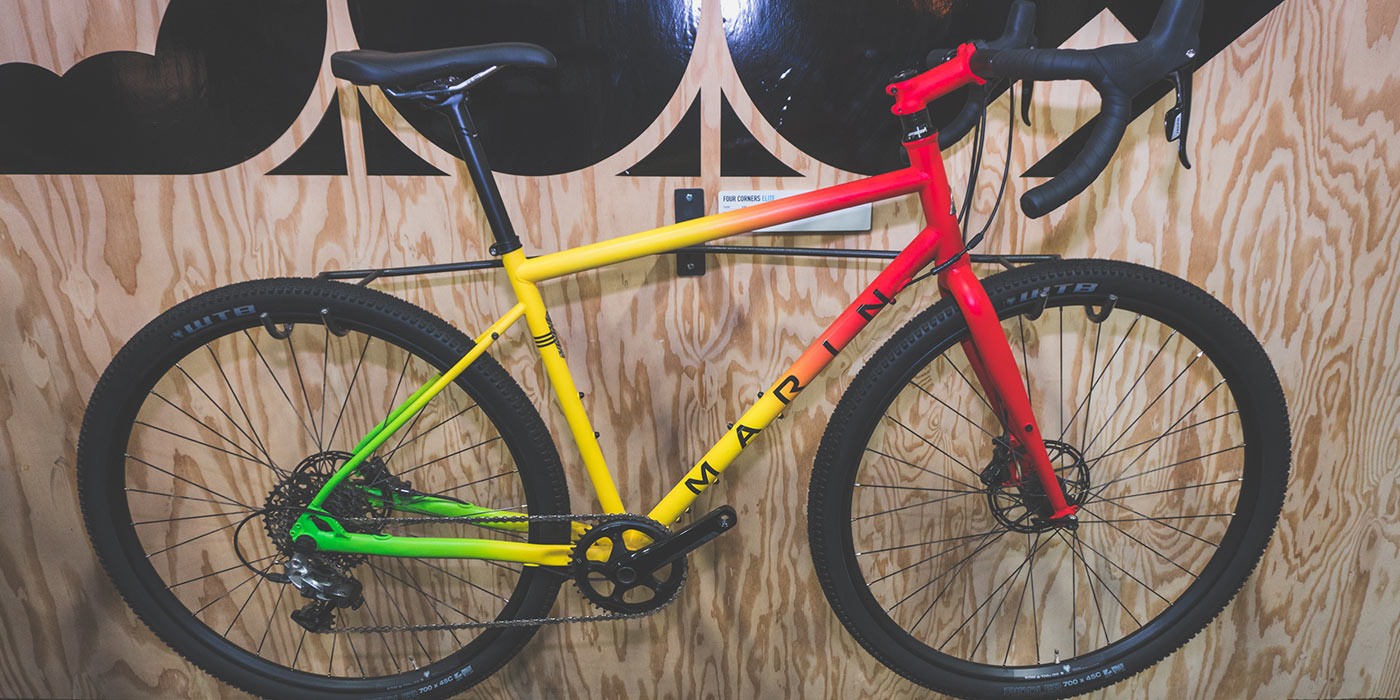 Interbike Microdose: Marin Bikes Four Corners Elite Gravel/Adventure/Touring Bike