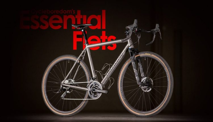Essential Fiets: A Typology of NAHBS Entries Through the Lenses of Internet Friendses