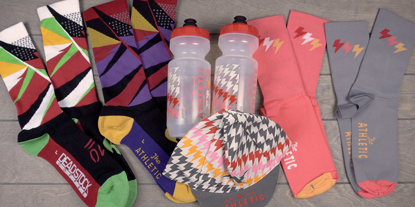 The Athletic Lightning Bolt Collection & Deadstock Coffee Socks - #MailDrop