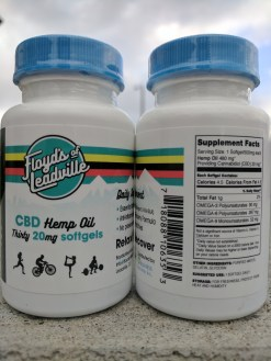 FLOYD'S OF LEADVILLE Introduces CBD Hemp Oil Natural Pain Relief Supplement