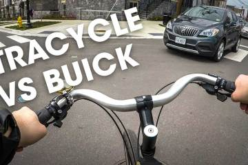 XTRACYCLE VS BUICK!!
