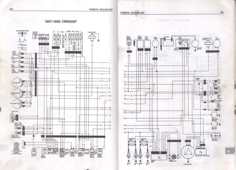 medium resolution of honda cbr600f wiring diagram wiring diagram g9 honda 4 wheeler wiring diagram 1988 honda goldwing wiring diagram