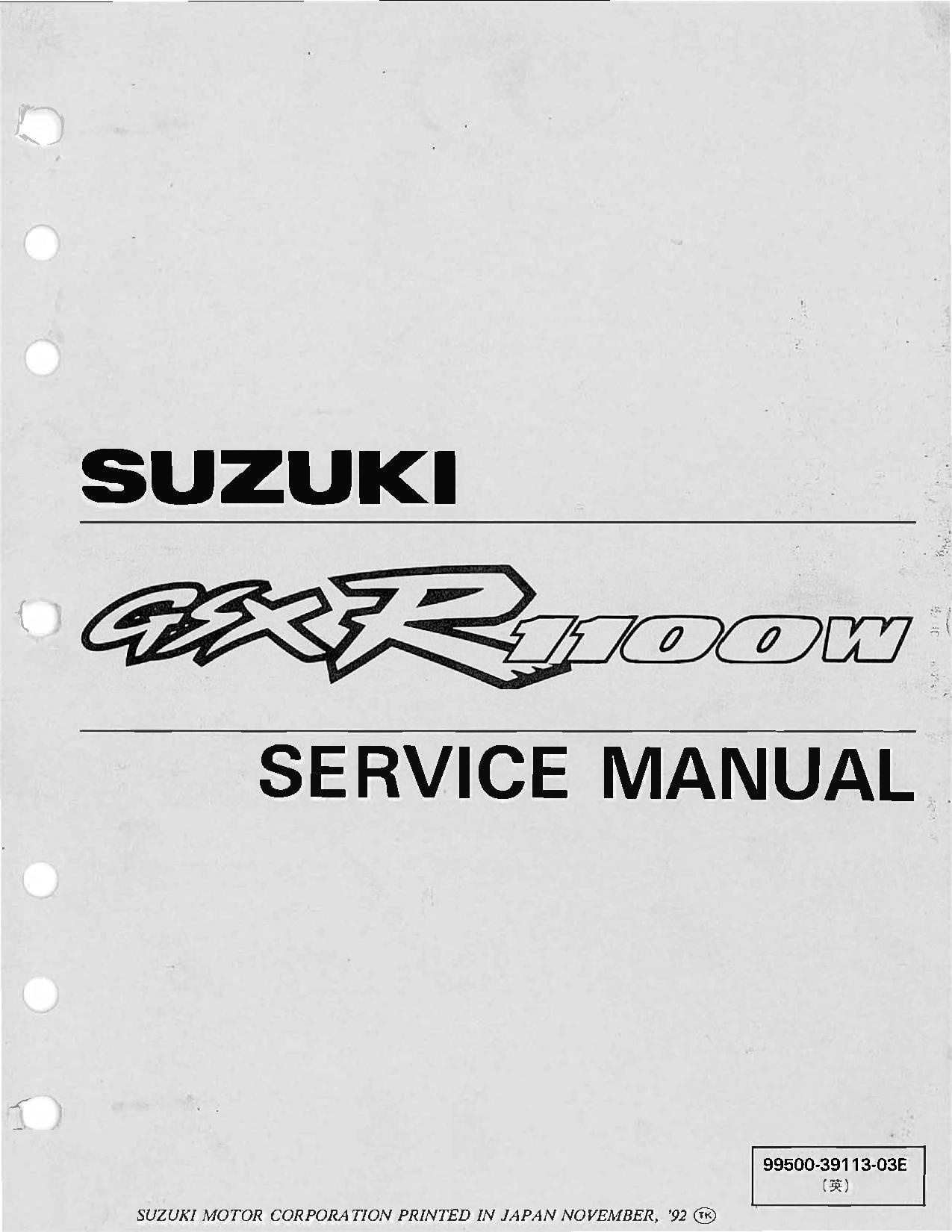 File:Suzuki GSX-R1100 1993-1998 Service Manual.pdf