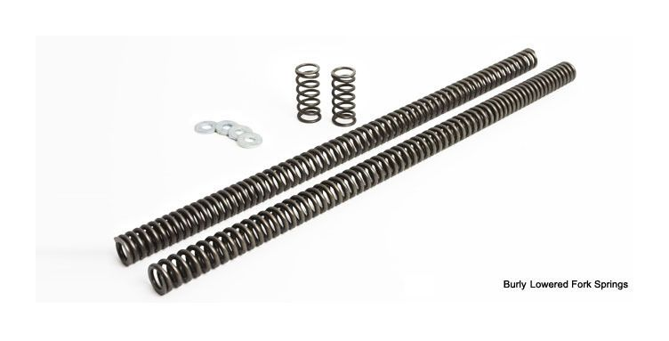 Burly Fork Lowering Kit For Harley Big Twin 1980-2013