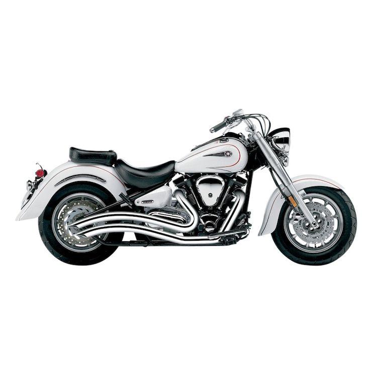 cobra speedster swept exhaust yamaha road star xv1600a xv1700a