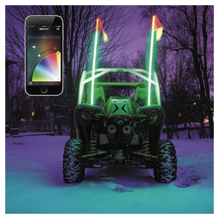 XK Glow Whip LED Light Kit UTV ATV Cycle Gear