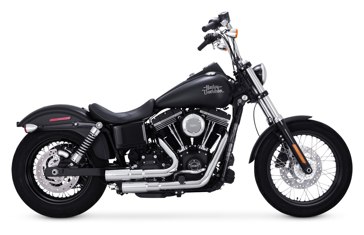 hight resolution of vance hines mini grenades exhaust for harley dyna 2006 2017 cycle gear