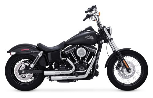 small resolution of vance hines mini grenades exhaust for harley dyna 2006 2017 cycle gear