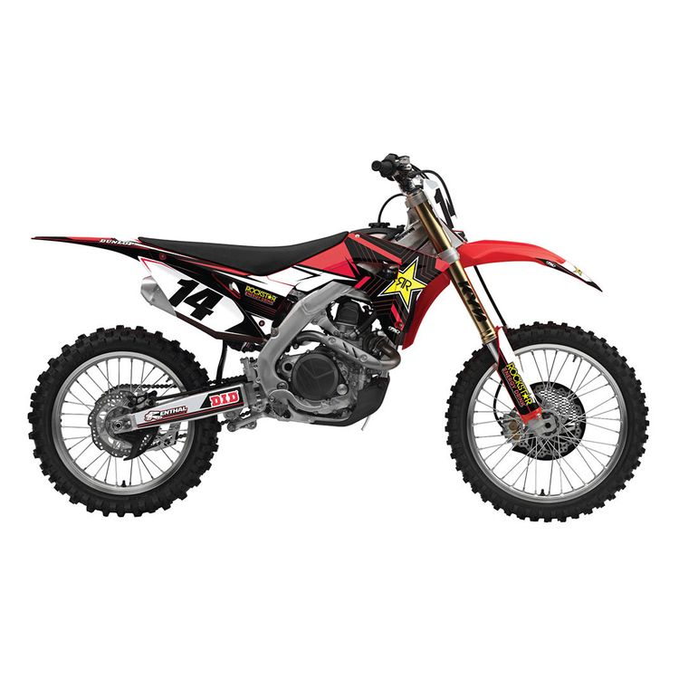 Factory Effex Complete Rockstar Graphics Kit Honda CR125R