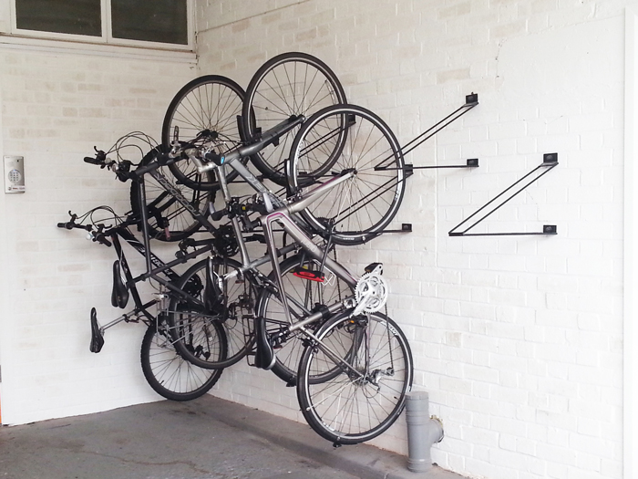 Vertical Bike Rack