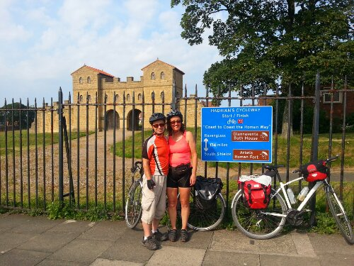 Hadrian's Cycleway Day 5 - Corbridge to Newcastle