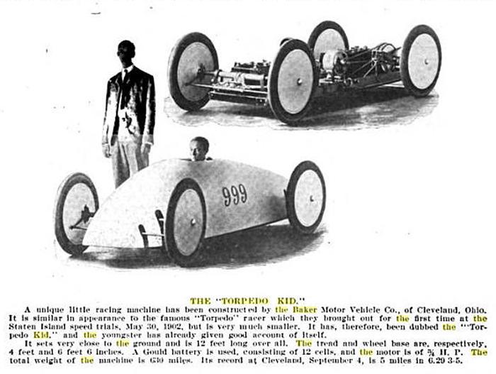 1903 CycleKart American (BTK999) : Registry : The