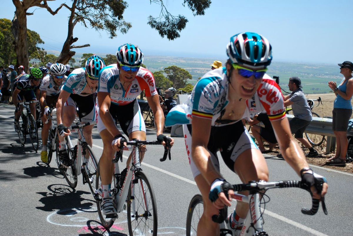 Team Lotto Willunga hIll 2011.