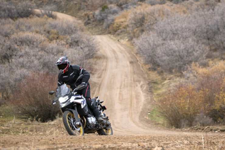 This riding is cake for 850 GS. It's capable of much more than this.