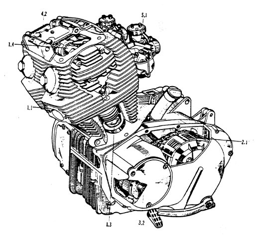 honda motorcycle engine specifications