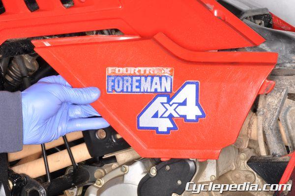 Honda Foreman Wiring Diagram 1986 1989 Honda Trx350 Fourtrax Trx350d Foreman Atv