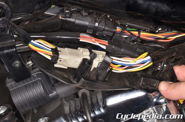 1989 sportster 1200 wiring diagram 6 way rv plug 2007 2013 harley davidson xl883 xl1200 efi motorcycle harness testing
