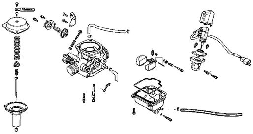 Kymco Carburetor Diagram, Kymco, Free Engine Image For