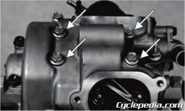 Scooter Wiring Diagrams Kymco Mxu 375 400 Atv Service Manual Printed By Cyclepedia