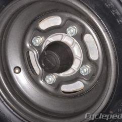 Kawasaki Klf220 Wiring Diagram 2001 Ford F150 Engine Bayou 220 250 Klf250 Service Manual Cyclepedia Wheels