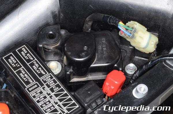 2004 Cbr600rr Wiring Diagram Honda Service Check Short Service Connector Cyclepedia