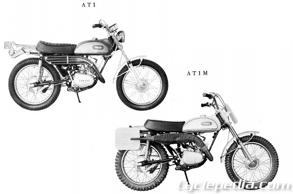 1968-1969 Yamaha AT1 AT1M Series Motorcycle Online Service