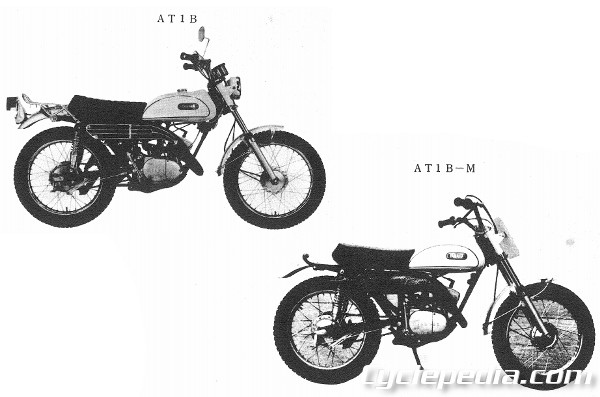 1969 Yamaha AT1M and 1970 Yamaha AT1B Series Online